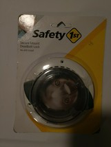 Safety 1st Secure Mount Deadbolt Lock NIP New Damaged Package Baby Infant Proof - $10.66