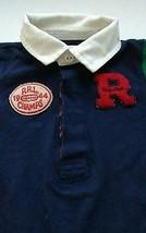 Ralph Lauren Size 9 Months Romper Green Navy Blue Red Stripe RRL 1944 Champs  - $17.50