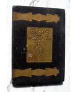 RHYMES FROM A ROUNDUP CAMP by Coburn with Charles M. Russell illustrations - $269.50