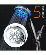 DreamSpa 5-Setting Water Temperature Color-Changing LED Hand Shower (All... - $34.99