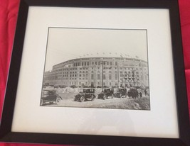 """YANKEE STADIUM of New York 8"""" by 10"""" black & white picture matted & framed - $22.98"""
