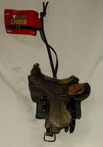 Horse Saddle Christmas Ornament - $14.84