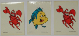Cards Disney 1991 Little Mermaid Color Me Stickers Pop-out, 39 cards - $10.58
