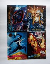 Cards Fleer Skybox 1996 Spider-Man Premium Eternal Evil 5x7 Promo Mint Venom 7x5 - $8.59