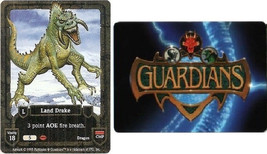 Cards Guardians 1995 Land Drake Game Card NEW Collectible cards - $12.12