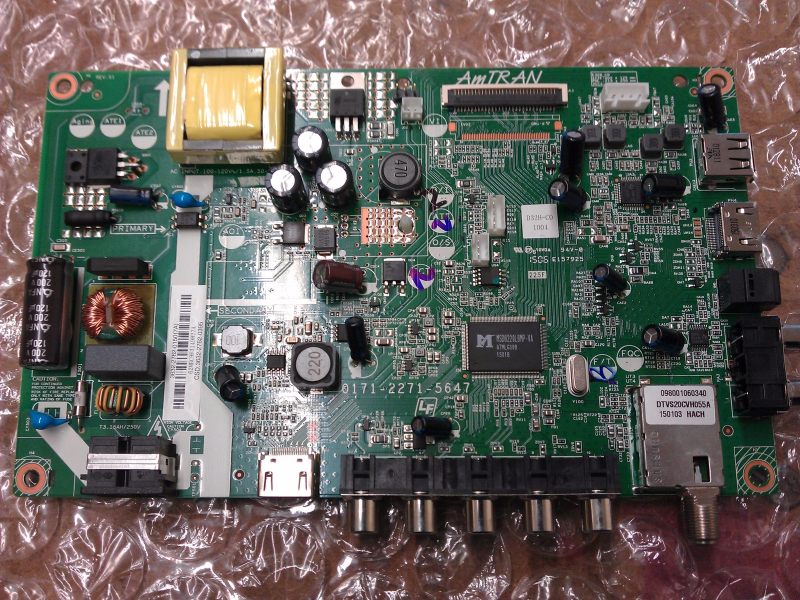 3632-2762-0150 Main Board From VIZIO D32H-C0 LCD TV