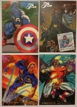 Cards Marvel Flair 1994 LOT 28 8-cards #63, 64, 65, 68, 69, 70, 72, 73 - $8.58