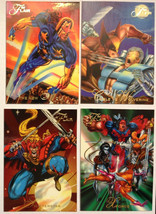 Cards Marvel Flair 1994 LOT 30 8-cards #68, 72, 73, 74, 77, 78, 79, 80 - $8.58