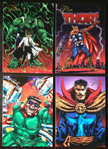 Cards Marvel Flair 1994 LOT 12 8-cards #2, 4, 9, 12, 13, 14, 15, 16 - $8.58