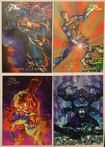 Cards Marvel Flair 1994 LOT 09 8-cards #113, 115, 117, 126, 127, 128, 12... - $8.58