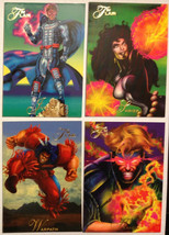 Cards Marvel Flair 1994 LOT 46 8-cards #126, 133, 134, 138, 140, 143, 14... - $8.58