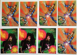 Cards Marvel Flair 1994 LOT 43 8-cards 5-126 and 3-138 Shriek Mr Fantast... - $8.58