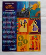 Cards Skybox 1996 Disney Hunchback of Notre Dame Promo Sheet uncut - $14.12