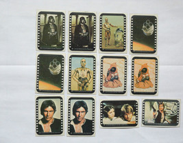Cards Star Wars Series 3 (Yellow Border) 12 Stickers cards - 1977 Topps Lot 2 - $26.12