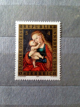 Stamps Austria 1989 Madonna and Child Lucas Cranach - $10.00