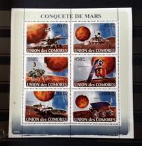 Stamps Comoros Comores Republic 2008 1 S/S Mars Spirit Viking Phoenix So... - $19.12