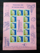 Stamps Ghana 1967 Conquest of the Moon conquest Lunar Orbiter Moon Luna ... - $29.12