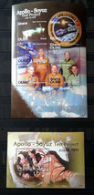 Stamps Ghana 2007 2 S/S 30th anniversary Apollo Soyuz Test Project stamps - $26.12