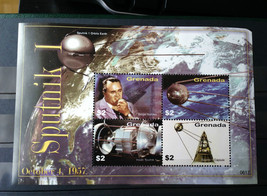 Stamps Grenada 2006 1 S/S 50th anniversary of Sputnik 1 - $17.12