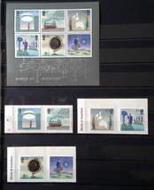 Stamps Great Britain 2007 World of Invention 1 S/S + 6 stamps full set - $39.12