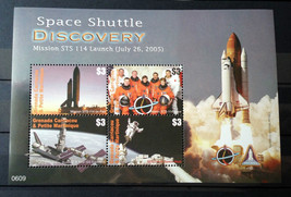 Stamps Grenada Carriacou Petite Martinique 2006 2 S/S Shuttle Discovery ... - $26.12