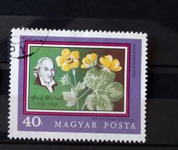 Stamps Hungary 1971 Magyar Posta Weldstein Pimpo Waldsteinia Geoides - $10.00