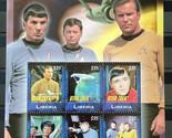 Stamps Liberia 2009 Star Trek Original - Souvenir Sheet 0826 stamps Space
