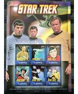Stamps Liberia 2009 Star Trek Original - Souvenir Sheet 0826 stamps Space - $16.12