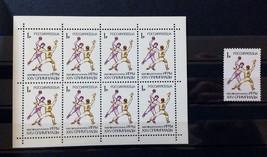 Stamps Russia 1992 26th Summer Olympics Barcelona Team handball - $11.62