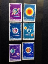 Stamps Romania 1981 Space Planets of our solar system set - $13.12