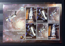 Stamps Saint Vincent Union 2009 50 years of Space Exploration space 1 S/... - $17.12