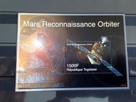 Stamps Togo 2006 50 years Progress in Space Mars Conquest MRO 1 S/S souv... - $15.12