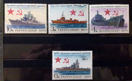 Stamps USSR Russia Soviet Union 1974 Warships - $10.00