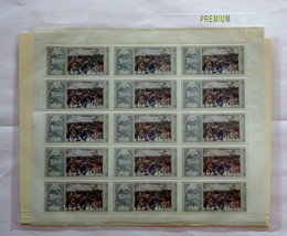 Stamps USSR Russia Soviet Union 1975 Full uncut sheet Rare Senate Square stamps - $24.12