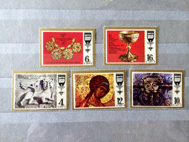 Stamps USSR Russia Soviet Union 1977 Old Masterpieces - $10.00