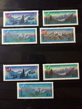 Stamps USSR Russia Soviet Union 1987 Mountains Alpinist Camp Type of 1986 - $10.00