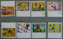 Stamps Vietnam Viet Nam 1982 World Cup Soccer Championship football - $16.12