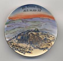 Antique Souvenir Dish Summit House Mt Evans Colorado ENCO NYC Hand Paint... - $20.00
