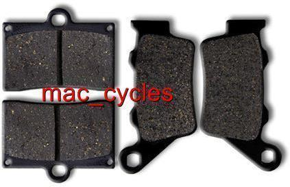 ATK Disc Brake Pads ATK600 Dirt Track Motard 2003 Front & Rear (2 sets)