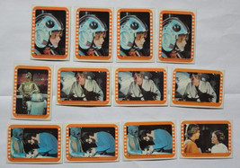 Cards Star Wars Series 5 (Orange Border) 12 Stickers cards - 1977 Topps Lot 2 - $31.36