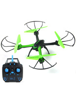 Starter Done H98 2.4Ghz 4CH 6-Axis Gyro RC Quadcopter 3D Flip with 0.3MP Camera  - $29.95