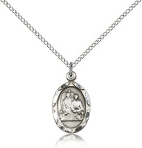 Sterling Silver Patron Saint Raphael the Archan... - $48.50