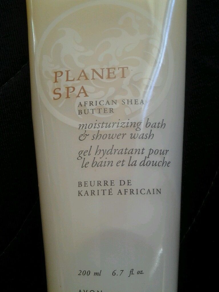 Avon Planet Spa African Shea Butter Bath & Shower Wash 6.7 oz
