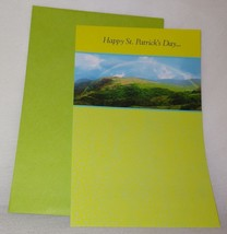 New Happy St. Patrick's Day Greeting Card Unused Nicest People - $5.64