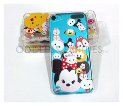 Disney Cartoon Heads Clear Hard Plastic Snap On Case for iPod Touch 5 5t... - $5.50