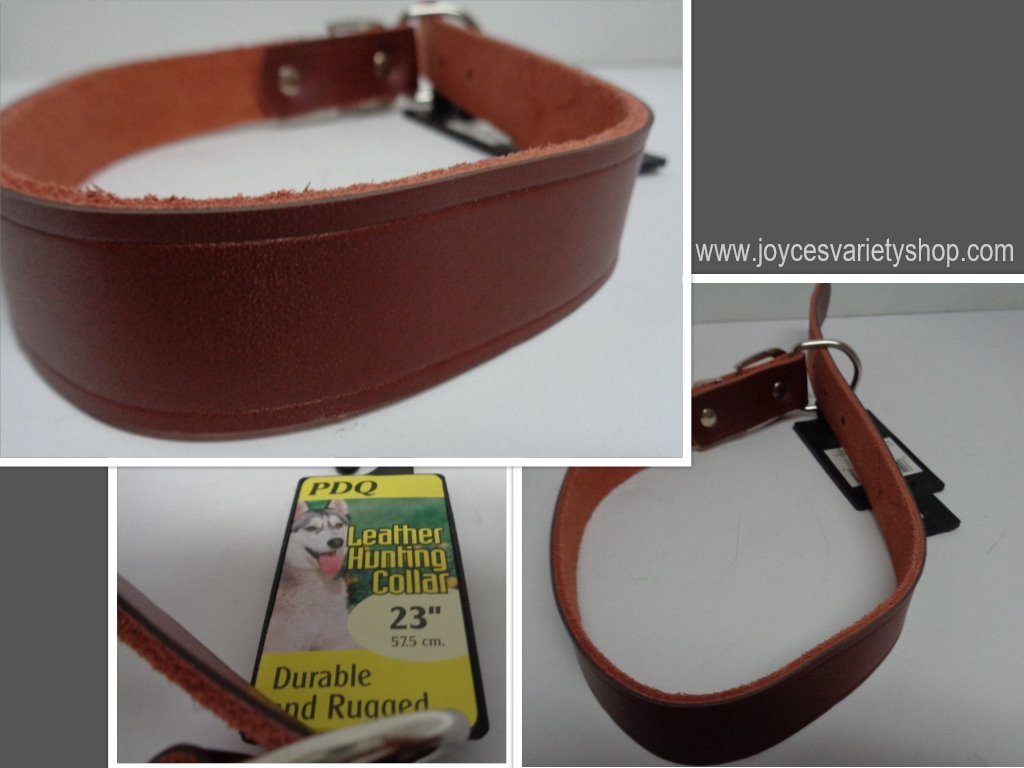 Brown hunting collar collage