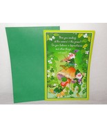 New Happy St. Patrick's Day Greeting Card Unused Leprechauns Lighthearte... - $5.64
