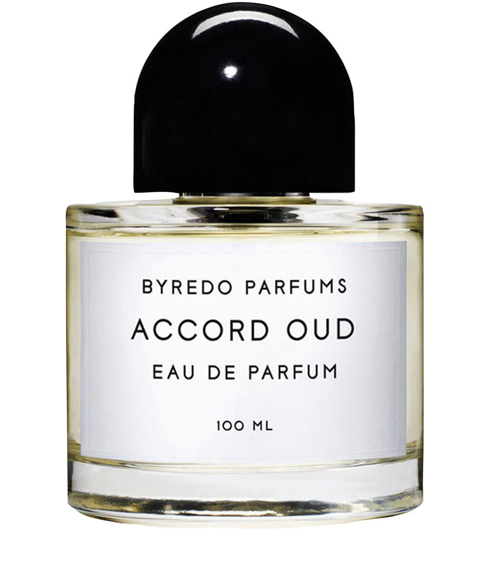 ACCORD OUD by BYREDO 5ml Travel Spray PATCHOULI SAFFRON RUM SAGE Perfume