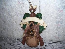 Gun Rabbit Grouse Deer Hunter Christmas Ornament for Hunting Sportsman - $14.30