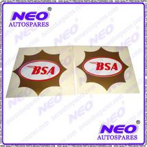 New Bsa Motorcycle High Quality Decal Gold Star Sticker Gas Tank Size 4 Inches - $13.16